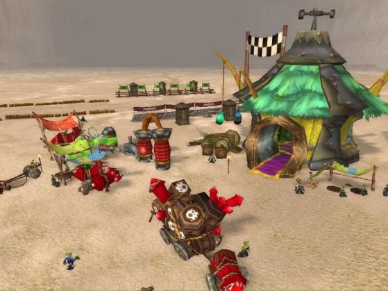C'est perturbant de revoir ces images. Je voulais juste faire une course de voiturettes, moi ! - World of Warcraft