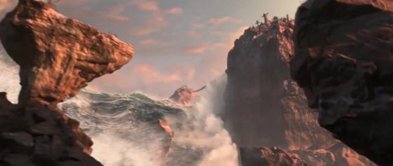Je retire ce que j'ai dit sur l'architecture des Taurens. Ils étaient pas si mal inspirés de s'établir en hauteur. - World of Warcraft