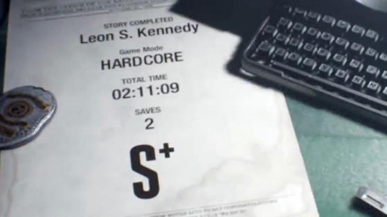 Resident Evil 2 : Rangs de campagnes, scénarios, récompenses