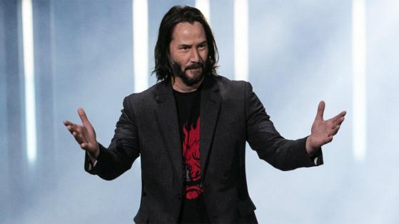 Cyberpunk 2077 : Keanu Reeves a le rôle d'un personnage important