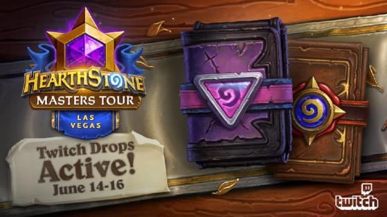 Hearthstone Esport : Twitch drops pour le Masters Tour de Las Vegas