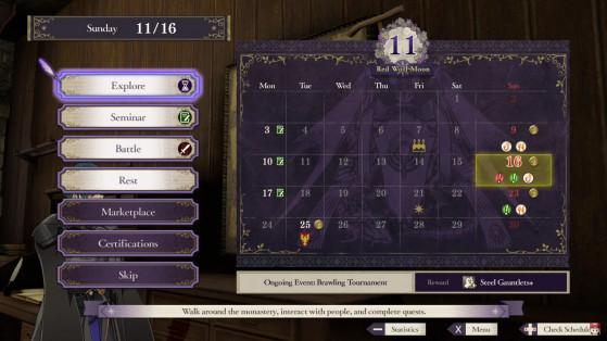 Dommage que votre pouvoir temporel ne vous permette pas d'avoir des journées de 72h. - Fire Emblem Three Houses