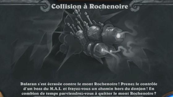 Bras de fer hebdomadaire Hearthstone : Collision à Rochenoire, Fête du Feu