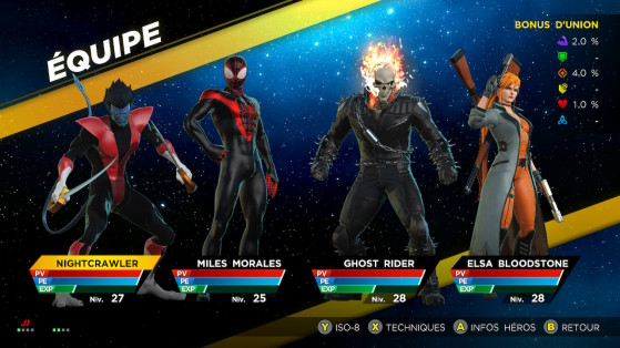 Le roster, aussi qualitatif que varié, permet des alliances folles. - Millenium