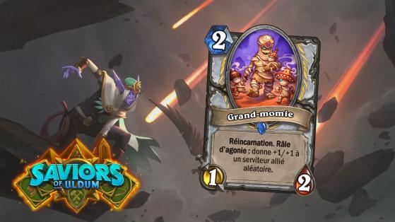 Hearthstone Aventuriers d'Uldum : Grand-momie (Grandmummy)