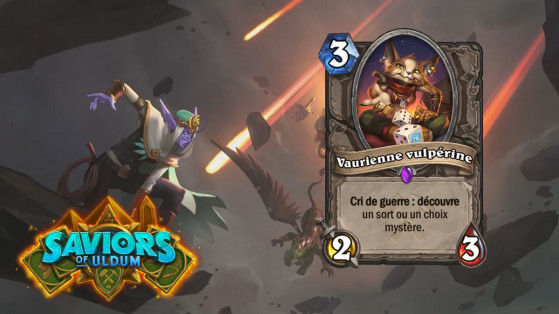 Hearthstone Aventuriers d'Uldum : Vaurienne vulpérine (Vulpera Scoundrel)