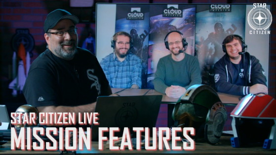 Star Citizen Live - Mission Features