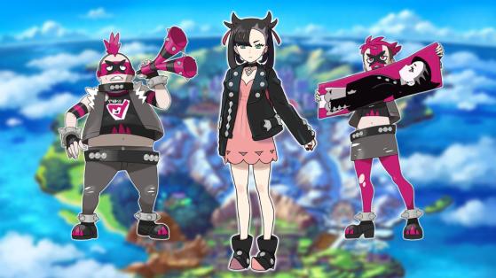 Pokemon epee et bouclier : présentation de la Team Yell et de Rosemary
