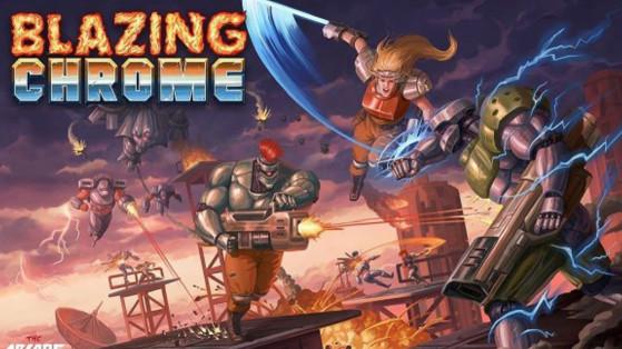 Test Blazing Chrome sur PC, PS4, Xbox One & Nintendo Switch