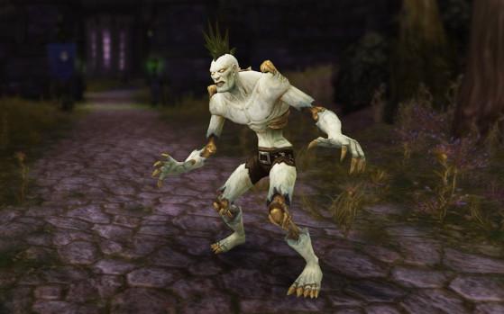 World of Warcraft : retirer les os des morts-vivants