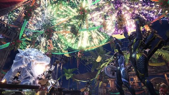 Profitez des festivités pour optimiser votre farming. - Monster Hunter World