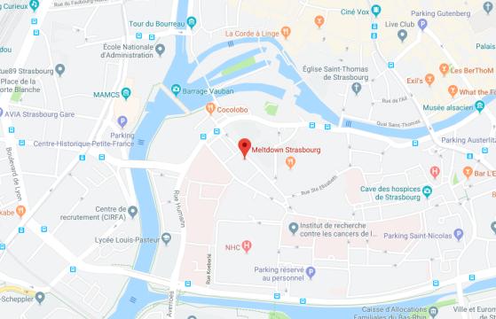Le Meltdown de Strasbourg au 10 Rue des Glacières - Star Citizen