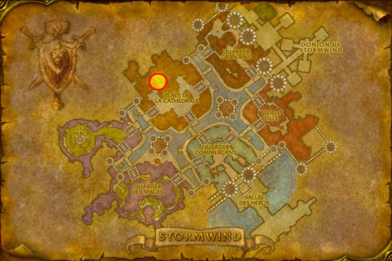 Localisation de Duthorian Rall - WoW : Classic