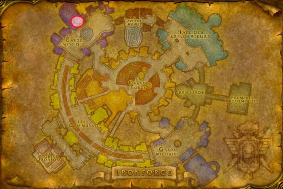 Localisation de Tiza Battleforge - WoW : Classic