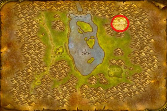 Localisation du Bastion des Mo'Grosh - WoW : Classic