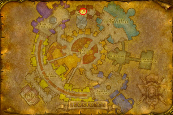 Localisation de Lago Blackwrench - WoW : Classic