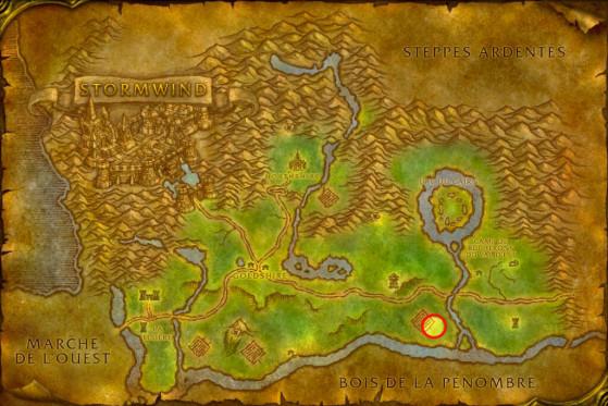Localisation de Surena Caledon - WoW : Classic