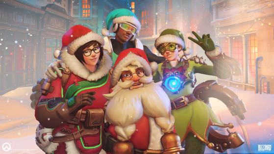 Overwatch : Féerie hivernale, Blizzard World des fêtes carte d'événement