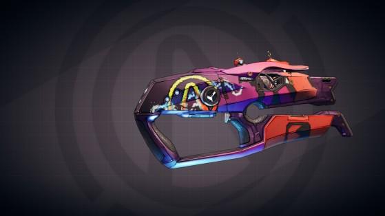 Borderlands 3, arme légendaire, récompense VIP : Dangerous Vault Hero