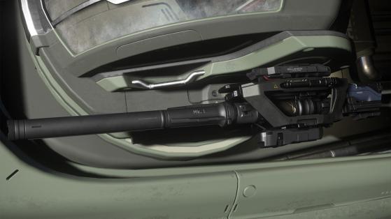Star Citizen : Arme Tarantula GT-870 Mark 2