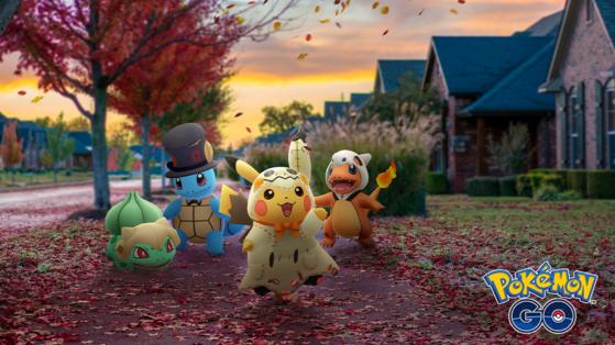 Pokemon GO : event, Halloween 2019