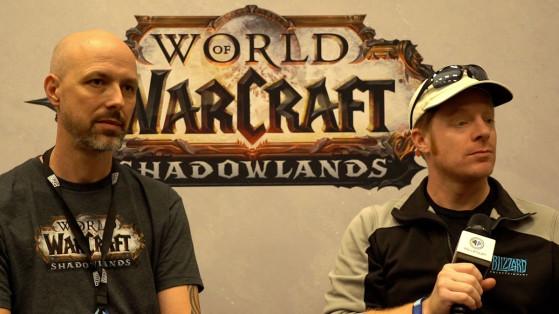 WoW Shadowlands : Interview d'Ely Cannon et Jeremy Feasel à la BlizzCon 2019