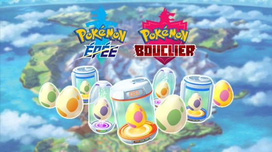 Guide Pokemon Epee et Bouclier : les capacités œuf