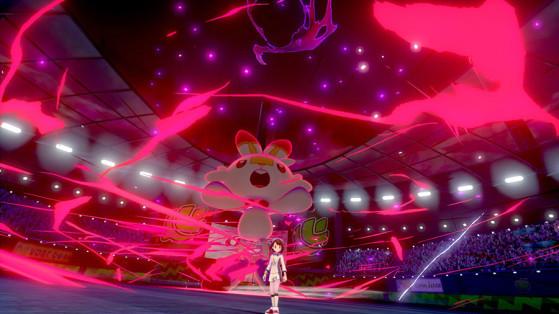 Forme Dynamax de Flambino - Pokémon Épée et Bouclier