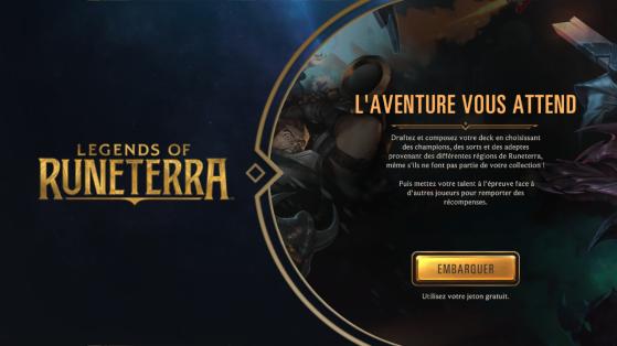 LoR : Les bases du mode draft expéditions de Legends of Runeterra disponible en jeu !