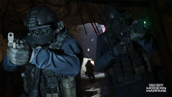 Call of Duty Modern Warfare : mode multijoueur Point Stratégique