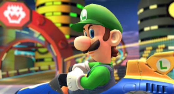 Mario Kart Tour : Tirer 5 boules de feu au but, défi