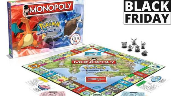 Black Friday 2019 : Monopoly Pokémon à -77% !