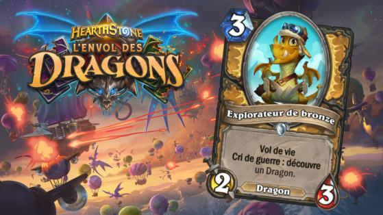 Hearthstone Envol des Dragons : nouveau serviteur commun Paladin Explorateur de bronze