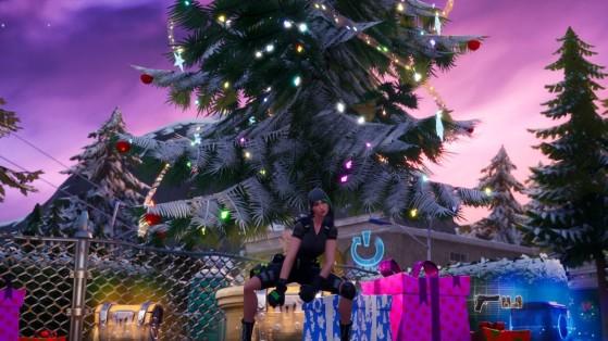 Fortnite : Danser devant des sapins de Noël à des lieux-dits différents, défi