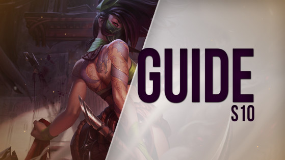 Guide LoL Akali, Top, S10