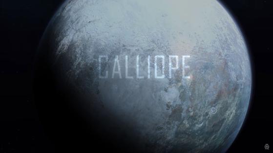 La lune Calliope - Star Citizen