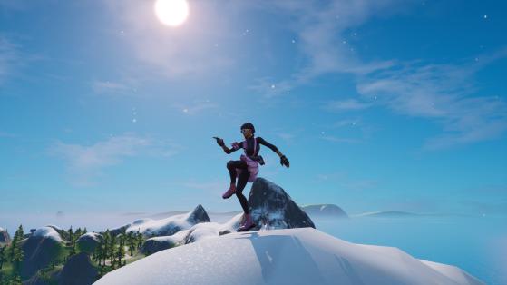 Fortnite : Danser au sommet du Mont H7, du Mont F8 et du mont Kay