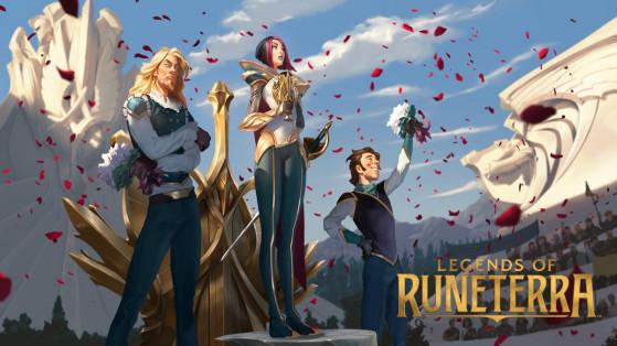 Legends of Runeterra -LoR : guide deck Fiora Shen Exodia OTK Demacia / Ionia