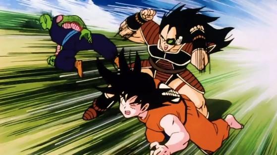 Dragon Ball legends : Piccolo et Goku sparkings, leak Vjump