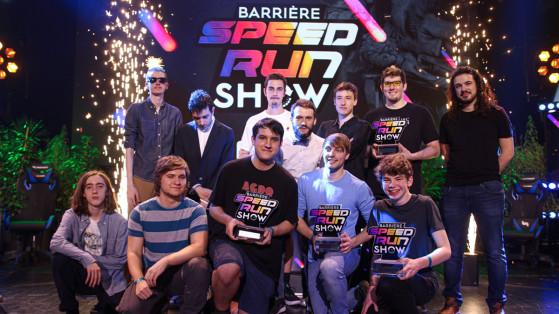 Barriere Speedrun Show : Des milliers d'heures d'entraînement pour quelques minutes de gloire