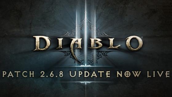 Diablo 3 : Le Patch 2.6.8 est déployé sur les serveurs de jeu