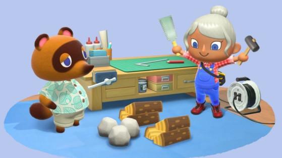 Animal Crossing New Horizons : les outils, leur utilité et comment les débloquer