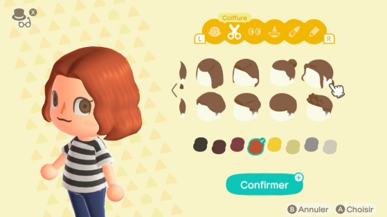 Coiffures Animal Crossing New Horizons : comment changer de coupe ?