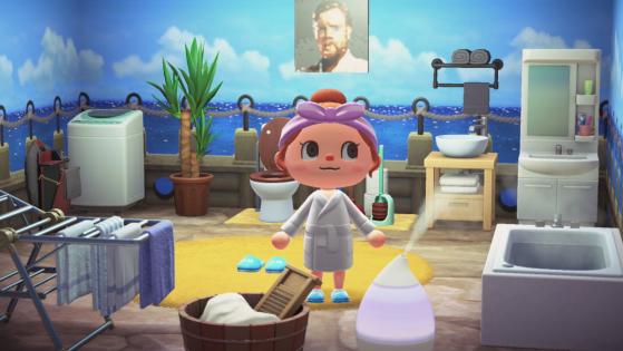 Gagnez de l'argent en décorant des pièces dans Animal Crossing New Horizons