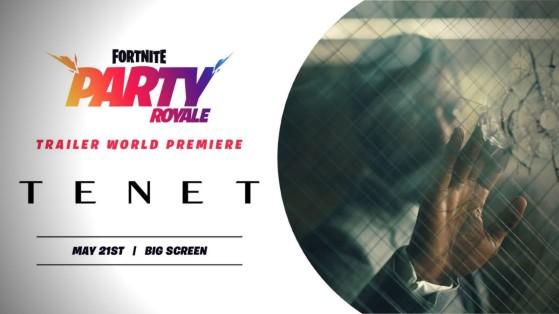 Fortnite : Tenet de Christopher Nolan, bande-annonce révélée sur Fête Royale