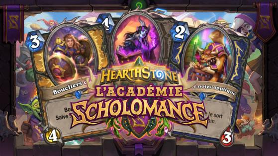 Hearthstone : Salve (Spellburst) nouveau mot clef de l'extension l'Académie de Scholomance