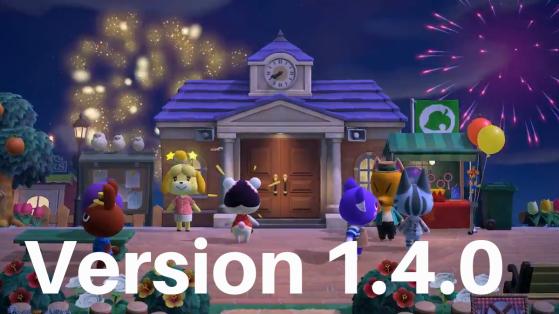 Animal Crossing New Horizons : mise à jour 1.4.0 patch notes français