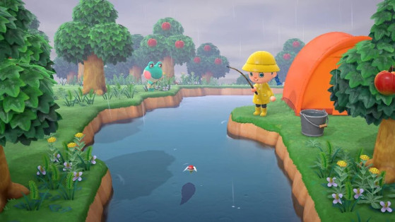 Animal Crossing New Horizons : la liste des poissons du mois de août de l'hémisphère nord et sud