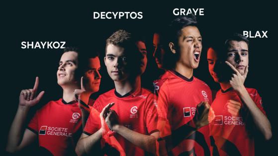Fortnite : GamersOrigin recrute Blax, Shaykoz, Decyptos et GRA1E