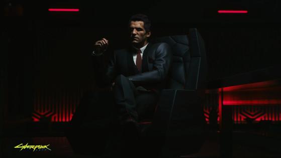 Arthur Jenkins, un homme qui a l'air tout à fait riant et sympathique. - Cyberpunk 2077